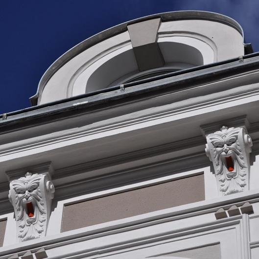 Dom Hotel Neue Fassade Gaupe
